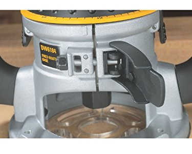 Dewalt dw618 2 14 hp electronic variable speed fixed base router i bought this router to used with my freud raised panel door set because freud recommends slower rpms when using the raised panel cutter greentooth